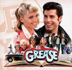 Grease! Movie Posters, Film, Famous Favorites, Beach Movie, Favorites Tv, Books Movies Tv Randoms, Poster Ideas, Favorite Movies, Favorite 80S