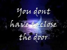 you don't have to close the door, dont throw away the key until you know forsure..
