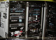 James Hetfield Touring Guitar Rig.