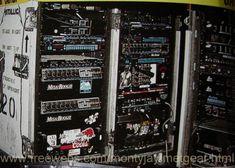 James Hetfield Touring Guitar Rig.