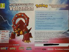 Volcanion giveaway (Pokemon XY & Omega Ruby & Alpha Sapphire [3DS]). Pick number between 1-100 in comments (1 comment allowed per user) and i'll pick the winner with the lucky number. (accounts must be 1 month old to avoid newly created users).