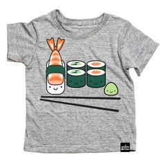 This cute, unisex Whistle & Flute Kawaii Sushi T-Shirt is playful and funny. The shirt's fun sushi cartoon graphics will make your child love sporting this cool kids' t-shirt this summer. Shop the look at Little Nomad! Source by littlenomadshop T-Shirts Fashion Moda, Look Fashion, Kids Fashion, Fashion Outfits, Maya Fashion, Fashion Boots, Fashion Clothes, Korean Fashion, Kawaii Sushi