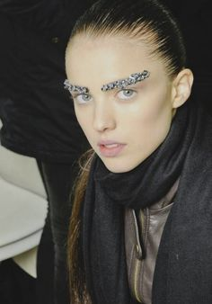 Margaret Qualley for Chanel Fashion Show, Fall/Winter 2012