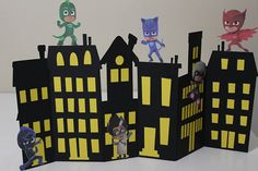 This item is unavailable 4th Birthday Parties, 2nd Birthday, Pjmask Party, Festa Pj Masks, Paper Mache Letters, Cute Kids Photography, Dragon Birthday, Trunk Or Treat, Party Centerpieces