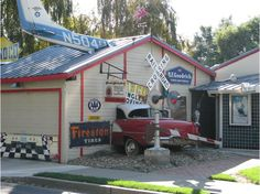 Cool looking garage