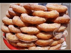 Beignets Marocains de la plage /البينيي sfenj, Donuts - YouTube