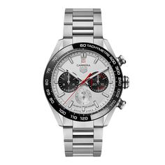 TAG Heuer - Carrera Sport Chronograph 160 Years Special Edition | Time and Watches | The watch blog Tag Heuer, Carrera, Chronograph, Watch Blog, Latest Watches, Steel Material, Sport Watches, Tags, Rolex Watches