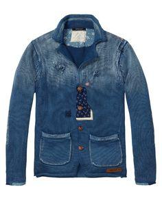 Vest met details | Trui | Mannenkleding bij Scotch & Soda