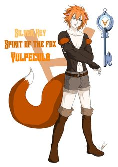 fairy tail silver keyed celestial spirits oc | Fairy Tail, Silver Key : Vulpecula (2nd Form) by Kokonoix