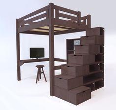 1000 images about lit mezzanine abc meubles on pinterest lit mezzanine mezzanine and cubes. Black Bedroom Furniture Sets. Home Design Ideas