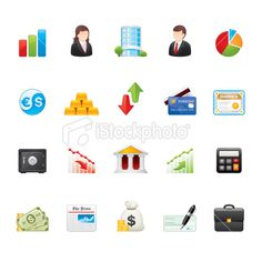 Business icons   set 8
