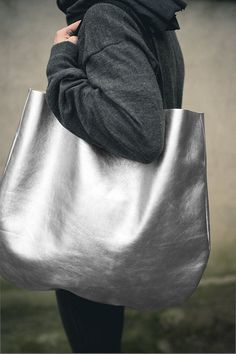 Dreamy silver purse.