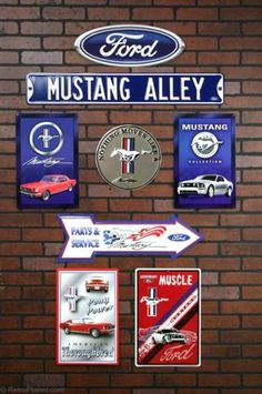 Make a Tribute to the Ford Mustang - Decorating with a Ford Theme ...