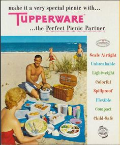 Vintage Tupperware Advertisement Re-shared from PlasticParties.com TUPPERWARE REP, Jennifer Graham