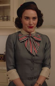Fashion Tv, 1940s Fashion, Vintage Fashion, 50s Outfits, Pin Up Outfits, Rachel Brosnahan, Best Bow, Retro Baby, Stand Up Comedians
