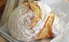 Пышный деревенский хлеб