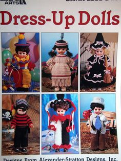 Dress-Up Dolls By Alexander-Stratton Designs Inc. by NeedANeedle