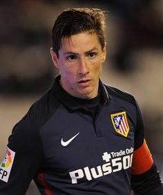 Fernando Torres Photos Photos - Fernando Torres of Club Atletico de Madrid looks on during the Copa del Rey, Round of 16 First Leg match, between Rayo Vallecano de Madrid and Club Atletico de Madrid at Estadio de Vallecas on January 6, 2016 in Madrid, Spain. - Rayo Vallecano de Madrid v Club Atletico de Madrid - Copa del Rey