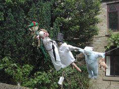 peter pan scarecrows | Rainow Church Fete