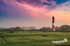 Pellwormer Leuchtturm im Morgenlicht
