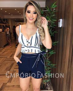 PREVIEW VERÃO Loja LOTADA de NOVIDADES.❤️ Corram pra cá... . Cropped: 109,90; Short laço: 159,90. . . #newcollection #newsemporio #lookemporiofashion #modafeminina #vendasonline #lojavarejo #fashion #style #instafashion #instamoda #lancamento #colecaonova