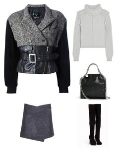"""Outfit Idea by Polyvore Remix"" by polyvore-remix ❤ liked on Polyvore featuring Nly Shoes, Chloé, Étoile Isabel Marant, STELLA McCARTNEY and Jean-Paul Gaultier"