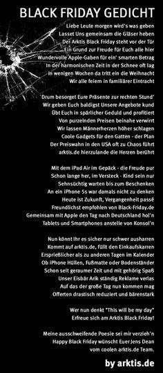 Unser kleines #Arktis #BlackFriday Gedicht! ;-) #Apple #iPad #iPhone #Mac #Gadgets