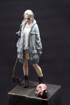 3d Character, Character Design, Marla Singer, Plastic Model Cars, Grafiti, Anime Figurines, Real Doll, Figure Model, Poses