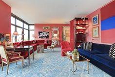 Miles Redd-Designed Pad at 1 Morton Square Seeks $5.75M - On the Market - Curbed NY