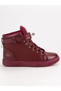 Bordové členkové tenisky CnB High Tops, High Top Sneakers, Shoes, Fashion, Moda, Zapatos, Shoes Outlet, Fashion Styles, Shoe