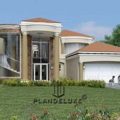 4 Bedroom house plan pdf at affordable price. Browse modern double storey house plans with photos, house plans in Limpopo and unique Tuscan house designs. Tuscan House Plans, Modern House Floor Plans, Contemporary House Plans, House Plans For Sale, House Plans With Photos, Beach House Plans, 6 Bedroom House Plans, Garage House Plans, Craftsman House Plans