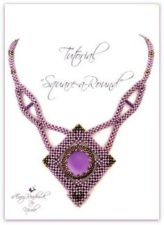 Beading pattern Necklace Square-a-Round in English von EnvyBeadwork