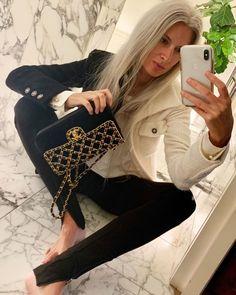 Sarah Harris, Black Pants, Shoulder Bag, Photo And Video, Bags, Style, Instagram, Videos, Photos
