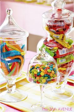Candy Birthday Party! Fun :)