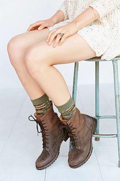 Pendleton Blanket Pattern Sock - Urban Outfitters
