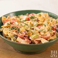 Add a slice of childhood-favorite flavors to your picnic with this chilled Pizza Pasta Salad recipe.