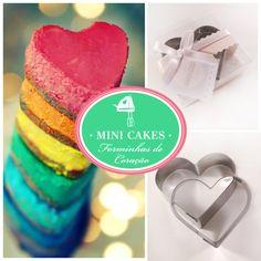 Excelente opção de lembrancinha para chá de lingerie: formas metálicas em formato de coração!