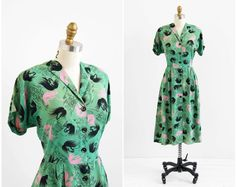 Image result for 1940s novelty print repro
