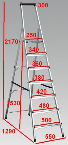 dimensions for ladders m - Αναζήτηση Google
