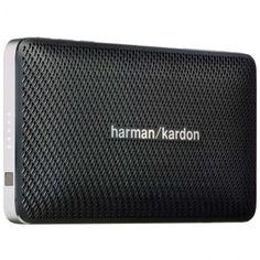 [R. ELETRO] Caixa de Som Bluethooth Esquire Harman Kardon 399,00 preto/dourado