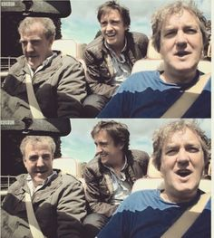 I love this show and these guys :)... I can only imagine what they are looking at.