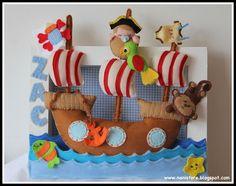 Arrivano i pirati di feltro