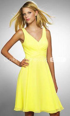 yellow dresses