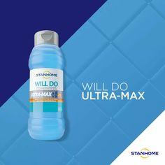 Will Do Ultra Max es el limpiador ultra concentrado eliminador de hongos que deja tu baño impecable en 30 segundos.