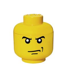 STORAGE HEAD ANGRY BOY S - stapelbare LEGO-Box