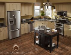Trendy Home Design Inspiration Kitchen Small Spaces Cabinets Home Design, Küchen Design, Design Basics, Design Elements, Off White Cabinets, Wood Cabinets, Cupboards, Appliance Covers, Appliance Repair