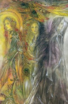 Maiden, Mother, Crone by Sulamith Wulfing