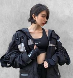 Discover Our Streetwear Chest Bag⬇️ streetwear highsnobiety fashion street styles urban aesthetic outfits men women sneakers hypebeast Mode Cyberpunk, Cyberpunk Fashion, Mode Streetwear, Streetwear Fashion, Style Japonais, Female Poses, Character Outfits, Ulzzang Girl, Fashion Outfits