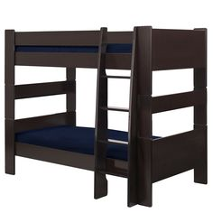 Popsicle Espresso Twin-over-Twin Bunk Bed - Overstock Shopping - Great Deals on Popsicle Kids' Beds