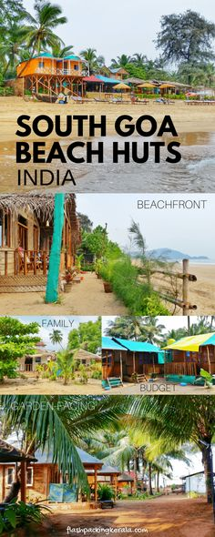 Best things to do in Agonda Beach. Best Agonda beach huts in South Goa. Backpacking South Goa, India itinerary travel planning tips. Goa Travel, Travel Destinations Beach, Places To Travel, Beach Travel, Paris Travel, India Destinations, Tourist Places, Vacation Travel, Goa India
